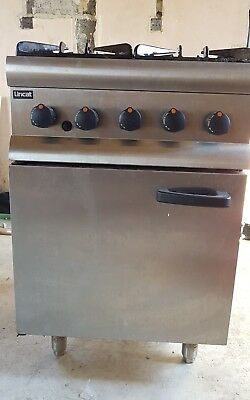 Lincat SLR6/N Gas Cooker 4 Burners Good condition