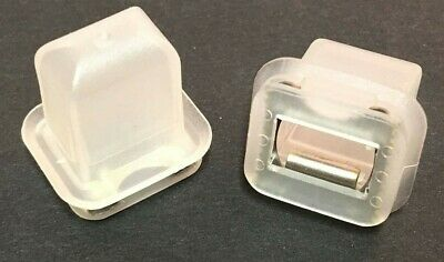 10x Clips For BMW 5 Series E39 Clear Plastic Door Trim Moulding Grommet Inserts