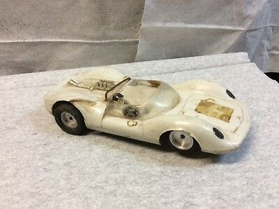 Slot Car 1/24 Scale Tamiya Die Cast Chassis Spring Suspension BB Axel