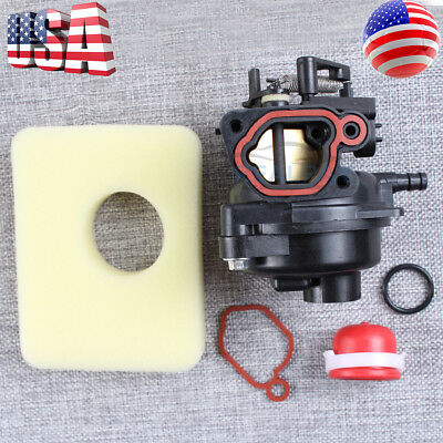 New Fuel Carburetor Carb+Gaskets Great Replacement for Briggs & Stratton 799584