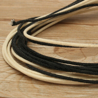 6 Metres Guitar Electrics 22 Gauge Vintage Cloth Covered Wire Stranded Core NEW