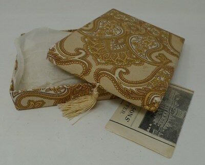 Beautiful Large Mixed Victorian Hand Made Lace Collection - In Vintage Box *
