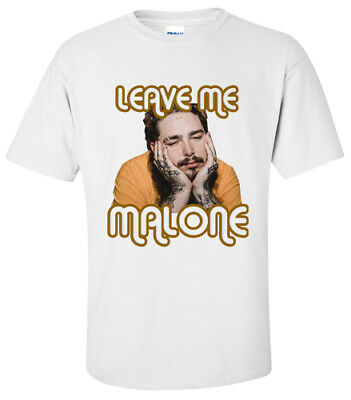 SHIRT POST MALONE LEAVE ME ALONE HIP HOP T-Shirt SMALL,MEDIUM,LARGE,XL