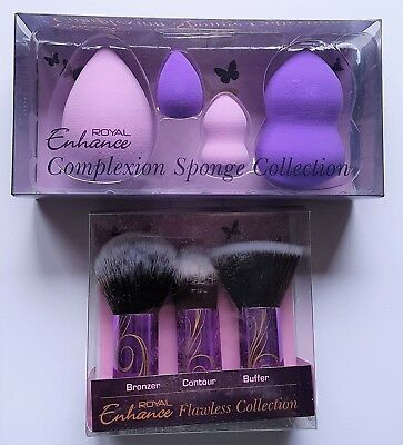 Royal Enhance Flawless Brush & Complexion Sponge Collection Sets
