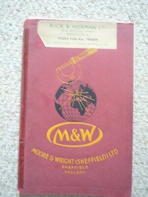 Moore And Wright Catalogue