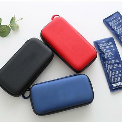 Insulin Cold Box Mini Portable Insulin Cooler Insulation Storage Bag Ice Pack