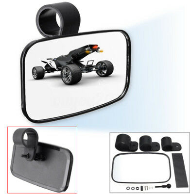 Center Mirror for Universal UTV Off Road Large Adjustrable Wide Rear Clear View