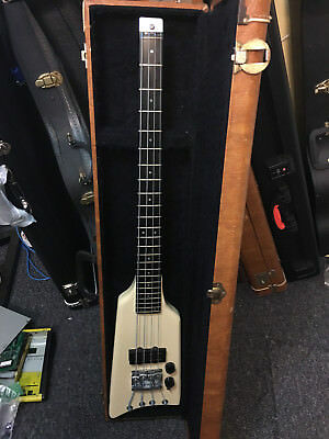 Kramer The Duke headless bass '80s cream aluminum neck, great travel bass