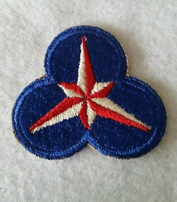 WWII WW2 U.S. Patch,Blue,Insignia,Unit,Original,USAF,Army,Corps,Uniform