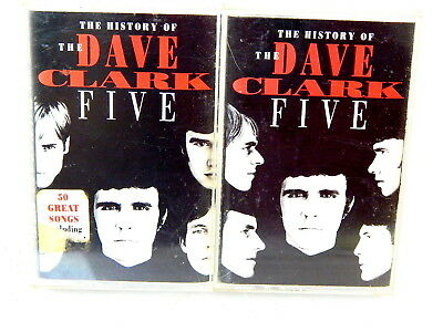 THE DAVE CLARK FIVE The History Of Double Cassette Music Tapes