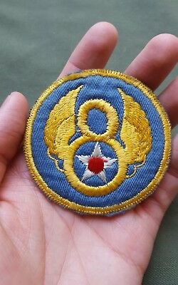 NICE WWII US Army Air Corps 8th Air Force British Theater Made Patch