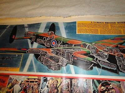 eagle comic cutaway centre pages. Complete collection 1950- 1959.