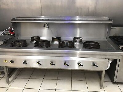 chinese cooker 7 burner gas comnercial