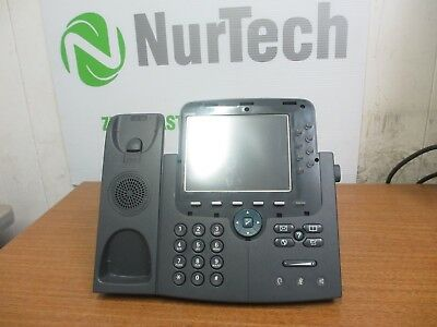 Lot of 5 Used Cisco CP-7975G Unified IP Phone