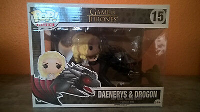 Funko Pop Daenerys Targaryen & Drogon Game of Thrones Sonderedition 18cm Neu