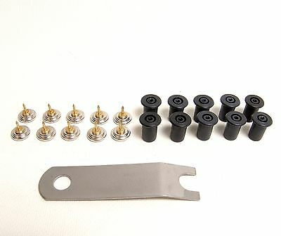 Quick Fit Pins, Quick Fit Sockets & Quick Fit Fastener Tool 21 Piece Set