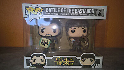 Funko Pop Battle of the Bastards Game of Thrones Sonderedition ca 15cm größe Neu
