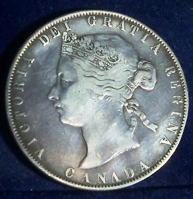 1871 Canada 50 cents