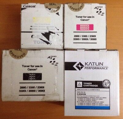 Canon IRC2880 Compatible Toner Set,,,