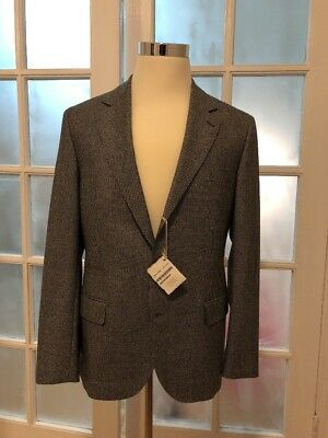 $5500 Brunello Cucinelli Houndstooth Suit - 50EU - NWT