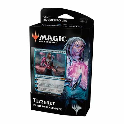 Magic Hauptset 2019 Planeswalker Deck Tezzeret (Deutsch) Magic Starter 1 Booster