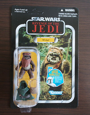 Star Wars Vintage Collection Wicket (VC27) Neu Unpunched Hasbro