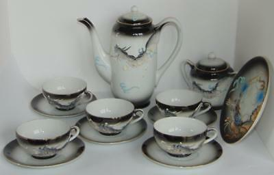 Vintage Japanese Dragon Tea Set