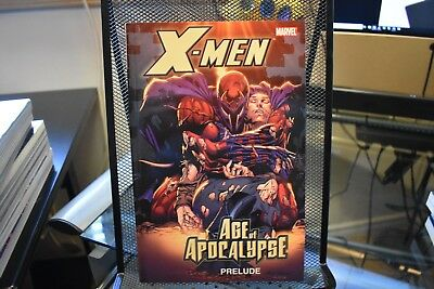 X-Men Age of Apocalypse Prelude Marvel TPB HUGE 264 Pages AoA Magneto Xavier