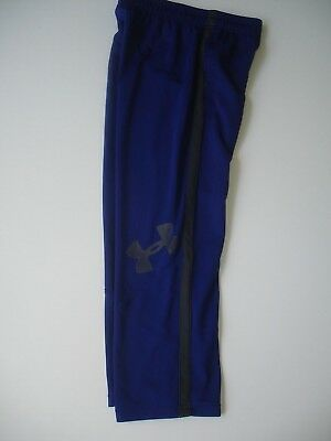 Boy YSM 7 / 8 - Under Armour Lightweight Pant - Royal Blue and Gray