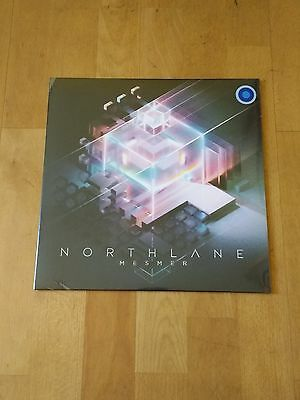 Northlane Mesmer Vinyl Blue with Blue Splatter Ltd 445 + Sticker + Bottle Opener