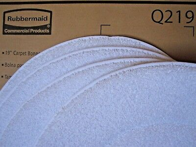 "Rubbermaid Q219 19"" Diameter Low Profile Microfiber Carpet Bonnet"