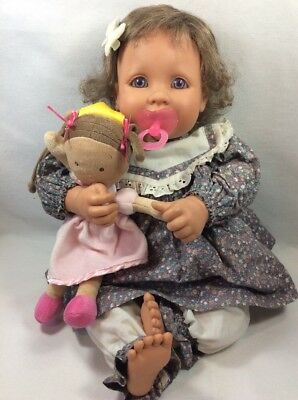 My Twinn  Babies Baby Doll Poseable Arms Legs By Sandra Bilotto