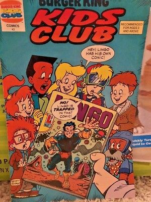 Burger King Kids Club Comics Vol 1 #2 January 1994 First Printing Good Condition