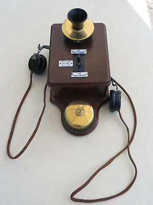 1930s S.R. Southern Railway Station or Signal Box Wall Telephone, Ericsson N1168