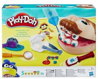 Play-doh Doctor Drill 'n Fill - Toys | Brand New | Free Delivery
