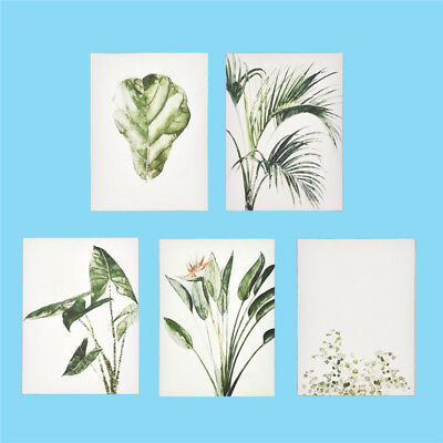 Green Plants Leaves Canvas Paintings Wall Art Poster Picture Home Decoration