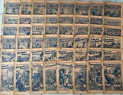 50 Copies The Magnet Pre War 1939 Comics Billy Bunters Own Paper