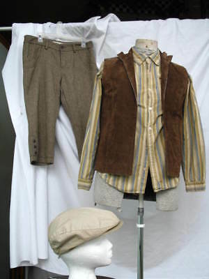 Victorian Edwardian Civil War Style Boys Small Adult Short Pants Knickers Outfit