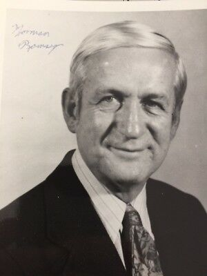 Norman Ramsey signed photo - Manhattan Project - Nobel Prize 1989