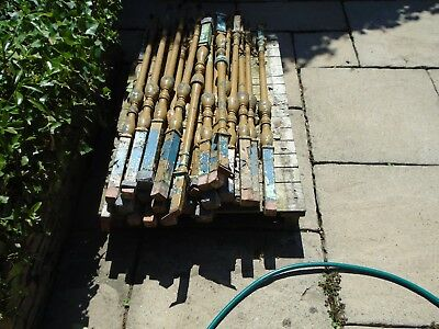 Nice lot of 30 x CAST IRON stair spindles