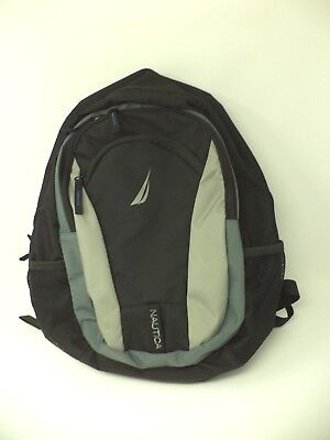 Nautica Backpack with Laptop Compartment Back to School Black Grey BRAND NEW 44a9b7e7b2a67