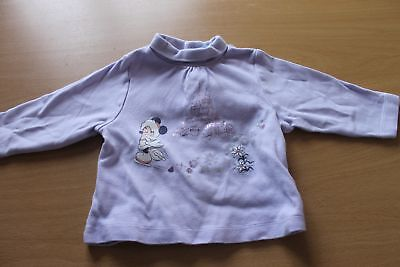 sous pull mauve taille 80