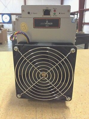 NEW! - D3 17.0 GH/s AntMiner w/ AW3++ PSU