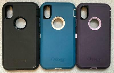 Original Otterbox Defender Case for iPhone 7 & iPhone 8 With Holster No Screen @