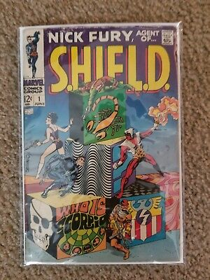 Nick Fury Agent Of Shield #1 GD