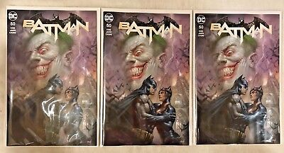 Batman #50 Lot of 3 Parrillo Variant Rare 3000 VF/NM DC Comics