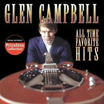 All-Time Favorite Hits [Collectables] by Glen Campbell (CD, Mar-2006, NEW