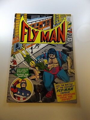 """Adventures of the Fly #34 VG condition """"bottom staple detached from cover"""""""