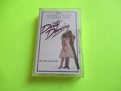 Dirty Dancing Soundtrack Ost Cassette Tape