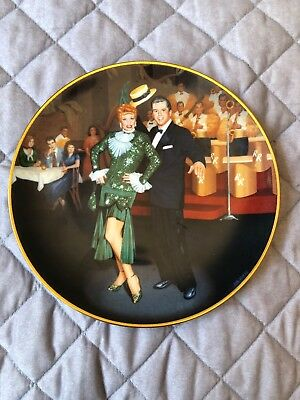 "The Hamilton Collection - I Love Lucy Plate - ""Night at the Copa"" by Jim Kritz"